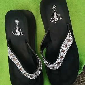 Corkys Shoes - Corkys flip flops